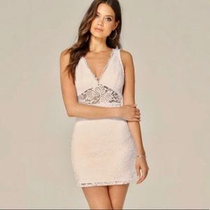 NWT White Lace Bebe Dress Size XS
